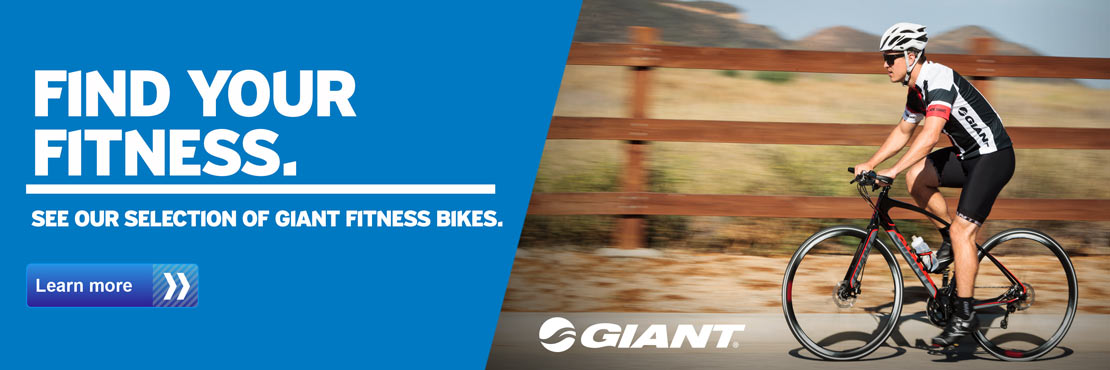 Find your fitness with our selection of Giant fitness bikes.