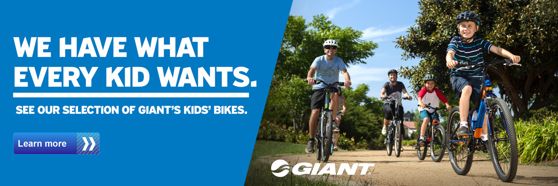 See our selection of Giant's kids' bikes.