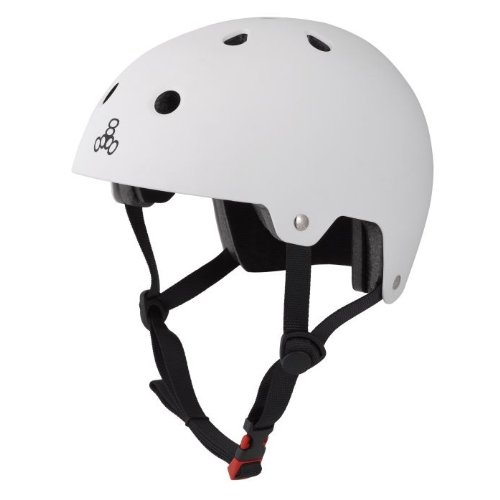 Triple Eight Brainsaver Certified Helmet Color: White Rubber