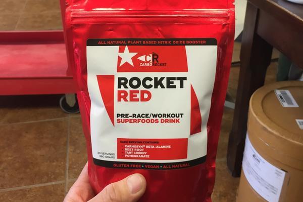 CarboRocket Rocket Red Pre-Workout Drink
