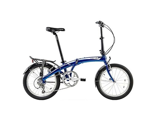 Dahon Mu D10 Tour Color: Dusty Blue