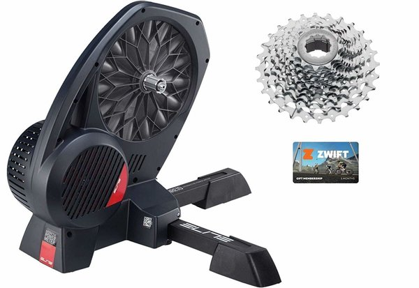 Elite Direto II Interactive Trainer with 11-Speed Cassette and 3 Month Zwift Membership