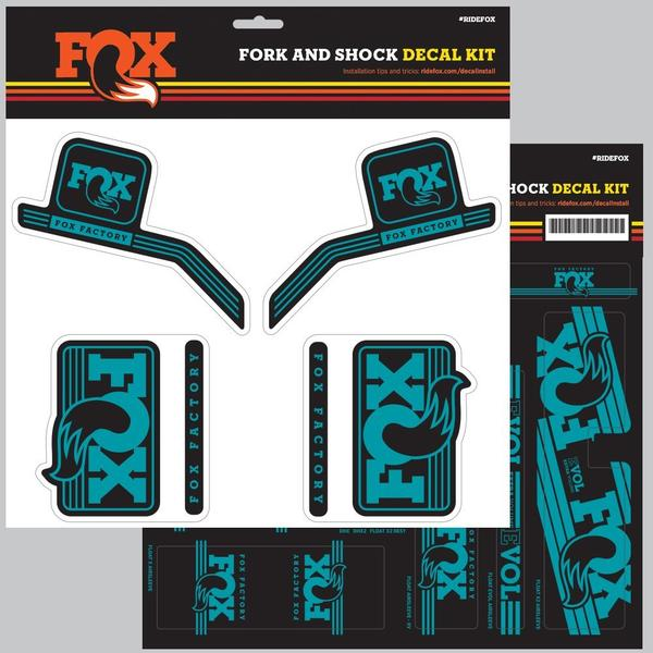 Fox Racing Shox 2016 AM Heritage Fork & Shock Decal Kit