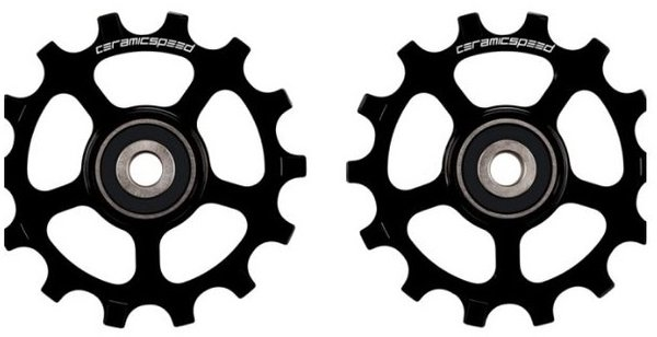 CeramicSpeed Shimano 12s XT/XTR MTB Pulley Wheels - Black