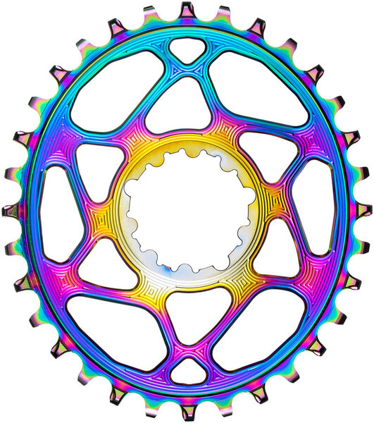 Absolute Black Oval Chainring SRAM Oil Slick