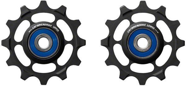 CeramicSpeed Pulley Wheels, Sram 1-11 for XX1/X01 Black