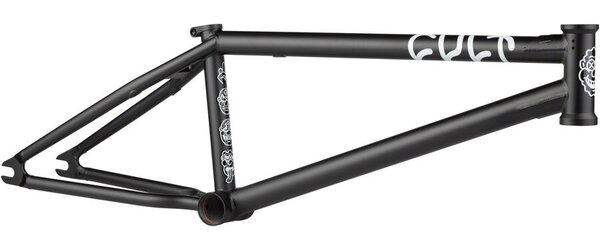 "CULT Shorty BMX Frame - 21"", Ricany Black"