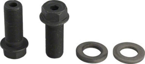 GSport G-bolts 14mm 17mm/6mm Pair Black