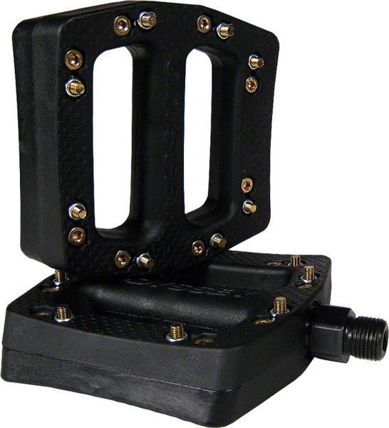 Odyssey JC/PC Plastic Pedals: Black