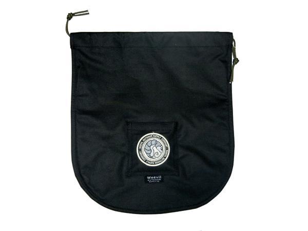 Weevil Oudoor Supplly Co. W.O.S.C. Yuksak Brands Logo Custom Bag, Black