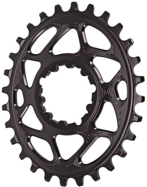 Absolute Black GXP Oval Chainring Boost 148 28T