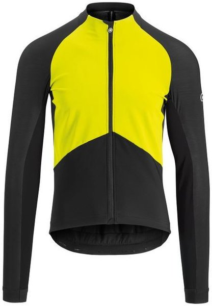 Assos Mille GT Spring/Fall Jacket Color: Fluo Yellow
