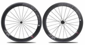 Profile Design Carbon 58/TwentyFour Clincher WheelSet