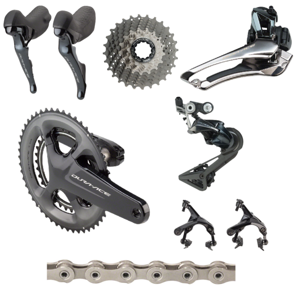 Shimano Dura-Ace 9100 175mm Mid-Compact Groupset - COPY