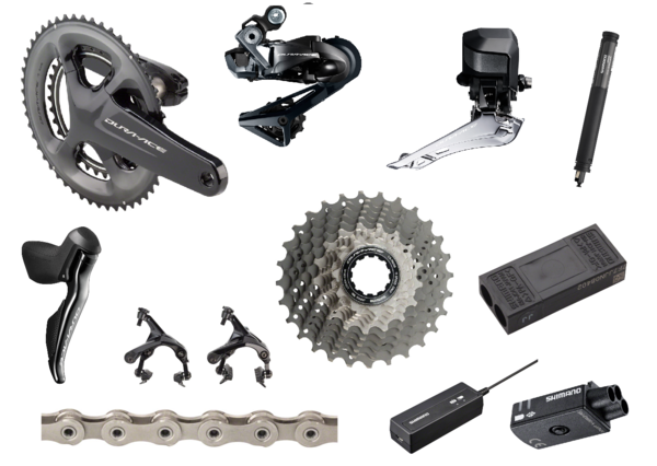 Shimano Dura-Ace 9150 Di2 175mm Standard Groupset