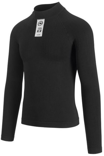 Assos Skinfoil Long Sleeve Winter Base Layer Color: blackSeries