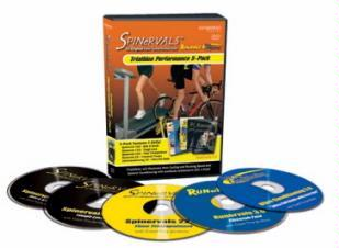 Spinervals Triathlon Builder DVD 5-Pack