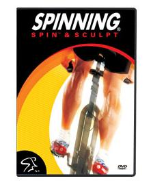 Spinning Spin & Sculpt DVD