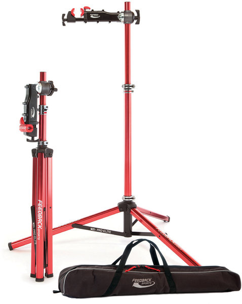Feedback Sports Pro-Elite Repair Stand w/Tote Bag