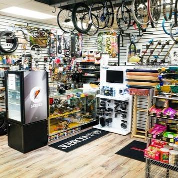 store interior - accessories