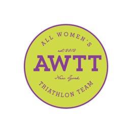 All Women's Triathlon team logo