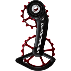 CeramicSpeed CeramicSpeed OSPW Oversized Pulley Wheel System for SRAM Red/Force AXS - Red Coated