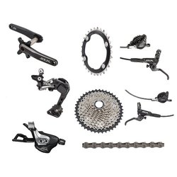 Shimano SLX M7000 Boost 175mm Complete Groupset with Brakes