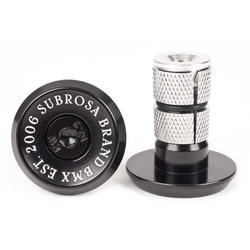 Subrosa Bitchin' Bar Ends, Black