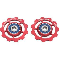 CeramicSpeed Pulley Wheels SRAM Alloy Red