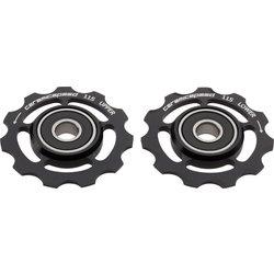 CeramicSpeed Shimano 11-speed Pulley Wheels: Alloy, Black