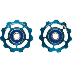CeramicSpeed Pulley Wheels Coated, Alloy, Limited Edition Blue, SRAM