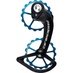 CeramicSpeed Oversized Pulley Wheel System Coated Bearings Shimano 9100 - Limted Edition Blue