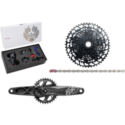 SRAM SRAM X01 Eagle AXS GX DUB Groupset with NX Chain and Cassette