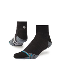 Stance Bike Solids Wool Quarter Socks