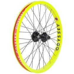 Odyssey Hazard Lite Freecoaster Rear Wheel, Fluorescent Yellow