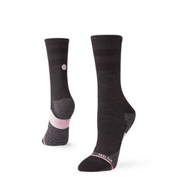Stance Women's Bike Solid Wool Crew Socks