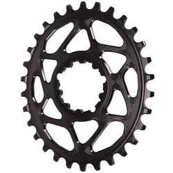 Absolute Black GXP Oval Chainring Boost 148 30T