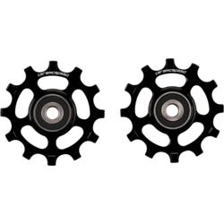 CeramicSpeed Pulley Wheel Oversized SRAM AXS Road 12-Speed, Black