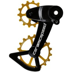 CeramicSpeed Pulley OSPW X Sram Eagle AXS Gold Coated