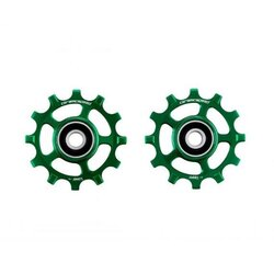 CeramicSpeed Pulley Wheels Coated Green SRAM AXS
