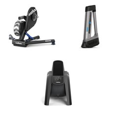 Wahoo Fitness KICKR Power Trainer, Kickr Climb, Headwind Fan Bundle