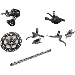 Shimano XTR M9100 12-Speed Groupset with 9120 XTR Enduro Brakes, 10-51T Cassette