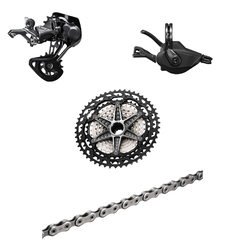 Shimano XTR M9100 12-Speed Groupset, 10-45T Cassette