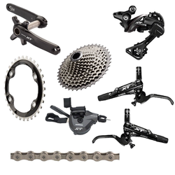Shimano XT 8000 Boost 170mm Complete Groupset with Brakes