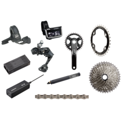 Shimano XT 8050 Di2 175mm Complete Groupset 1x