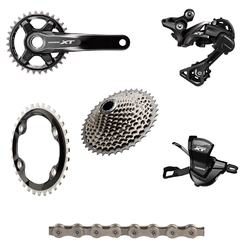 Shimano XT 8000 175mm 6-Piece Groupset