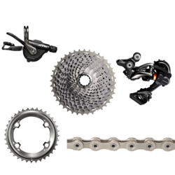 Shimano XTR 9000 170mm Groupset without Crankset