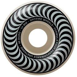 Spitfire F4 Classic 54mm White Swirl Wheels