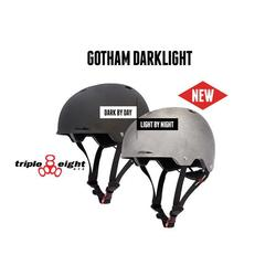 Triple Eight Gotham Darklight with Stealth Reflective Technology