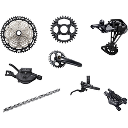 Shimano XT M8100 12-Speed with 2-Piston Brakes